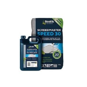 Bostik Screedmaster Speed 30 Powder 20kg & Bostik Screedmaster Speed 30 Liquid 4 Litres